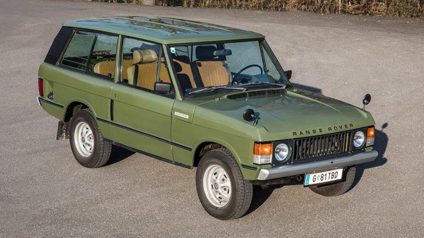 Range Rover Kaufberatung: Alles offen