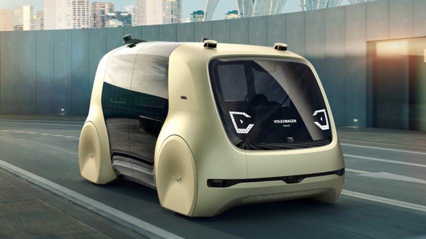 VWs selbstfahrendes Auto heißt Sedric