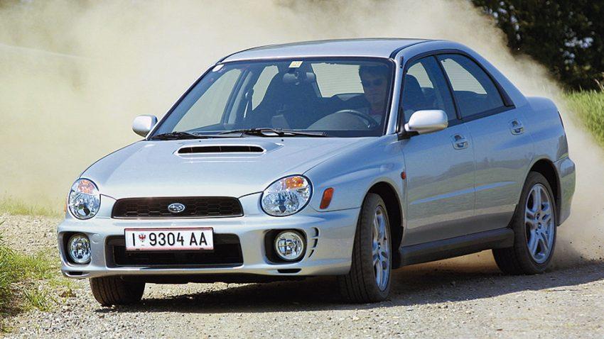 Subaru Impreza WRX: Herr Brenner