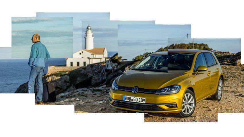 VW Golf Update: Wischen für alle