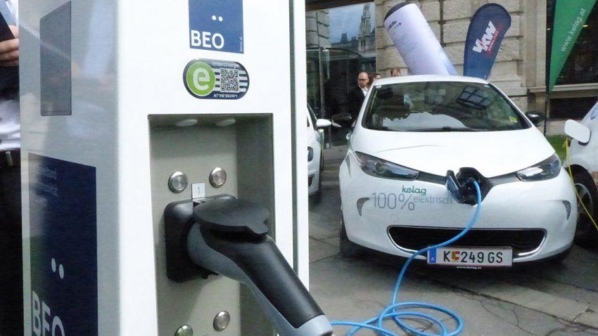 Zweites österreichweites Ladenetz für E-Autos startet