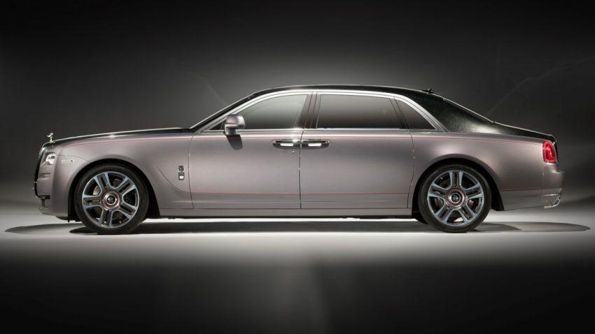 Rolls-Royce lackiert Ghost mit echtem Diamantenstaub