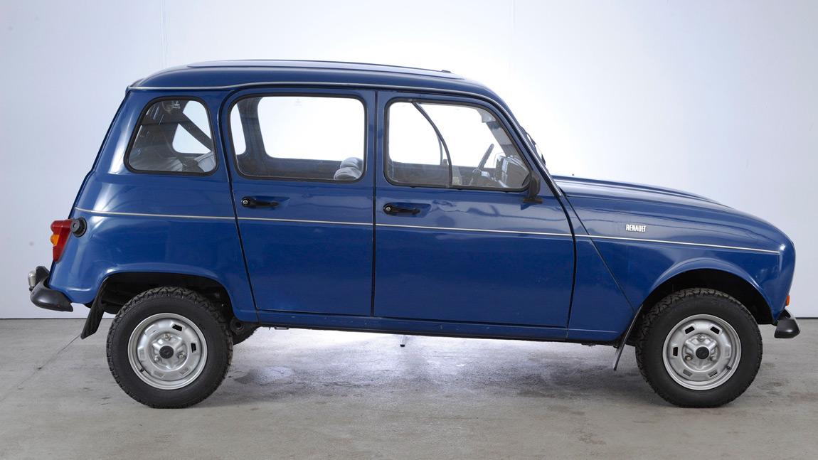 classic car 1984 renault r4 sinpar. Black Bedroom Furniture Sets. Home Design Ideas