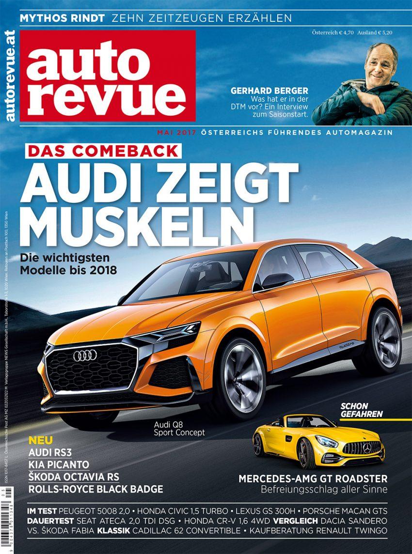 Autorevue Magazin: Ausgabe 5/2017