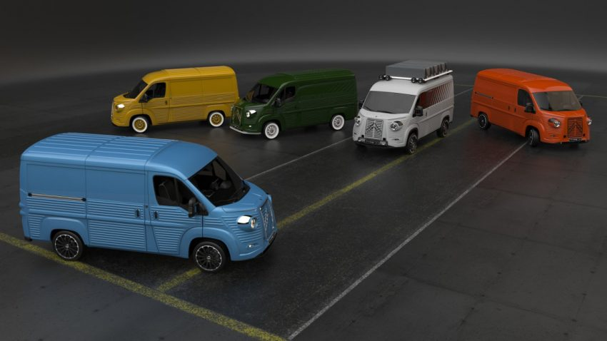 Bau dir deinen Citroën HY!