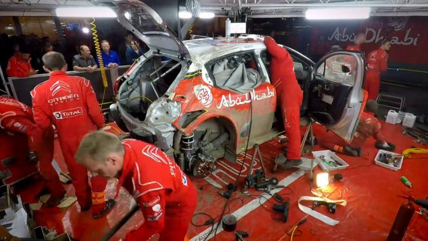 Wie man ein Rallye-Auto in nur 3 Stunden repariert