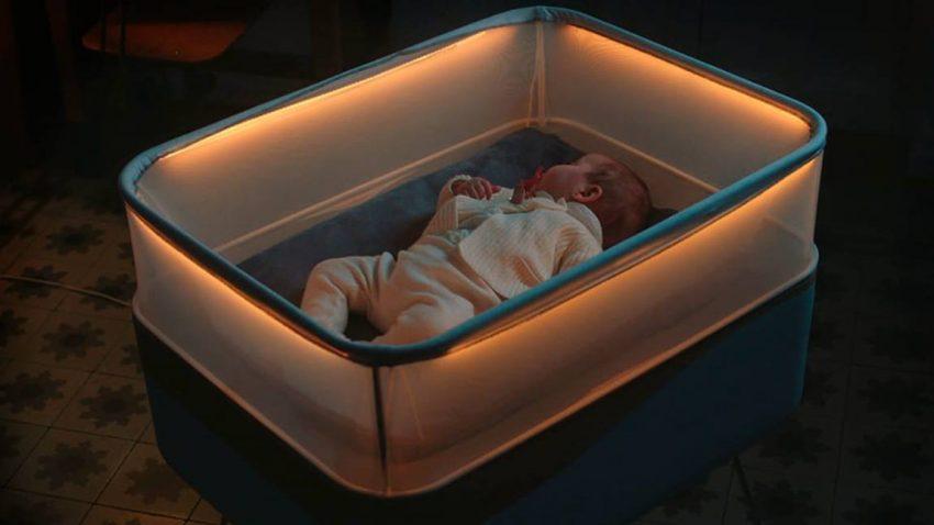 Fords Baby-Bett hat die einschläfernde Wirkung einer Autofahrt