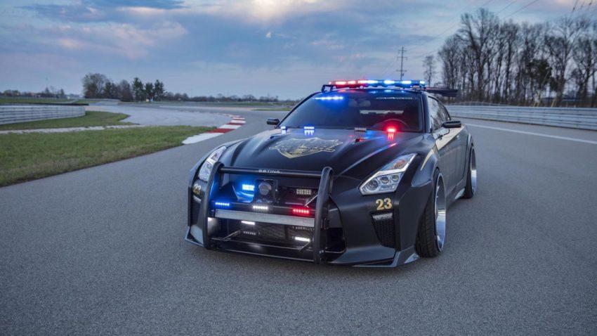 """""""Copzilla"""": Nissan zeigt GT-R-Polizeiauto"""