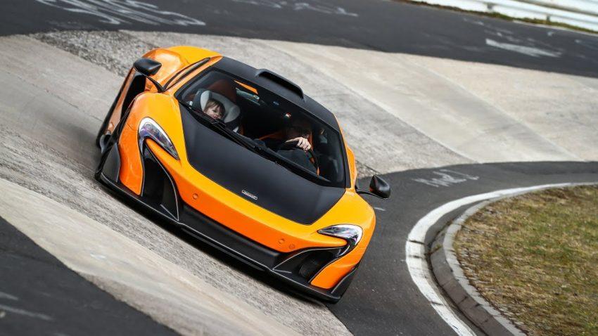 Mit dem McLaren 675LT am Nürburgring