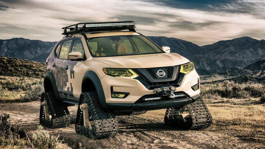 Nissan macht den Rogue zum Kettenfahrzeug