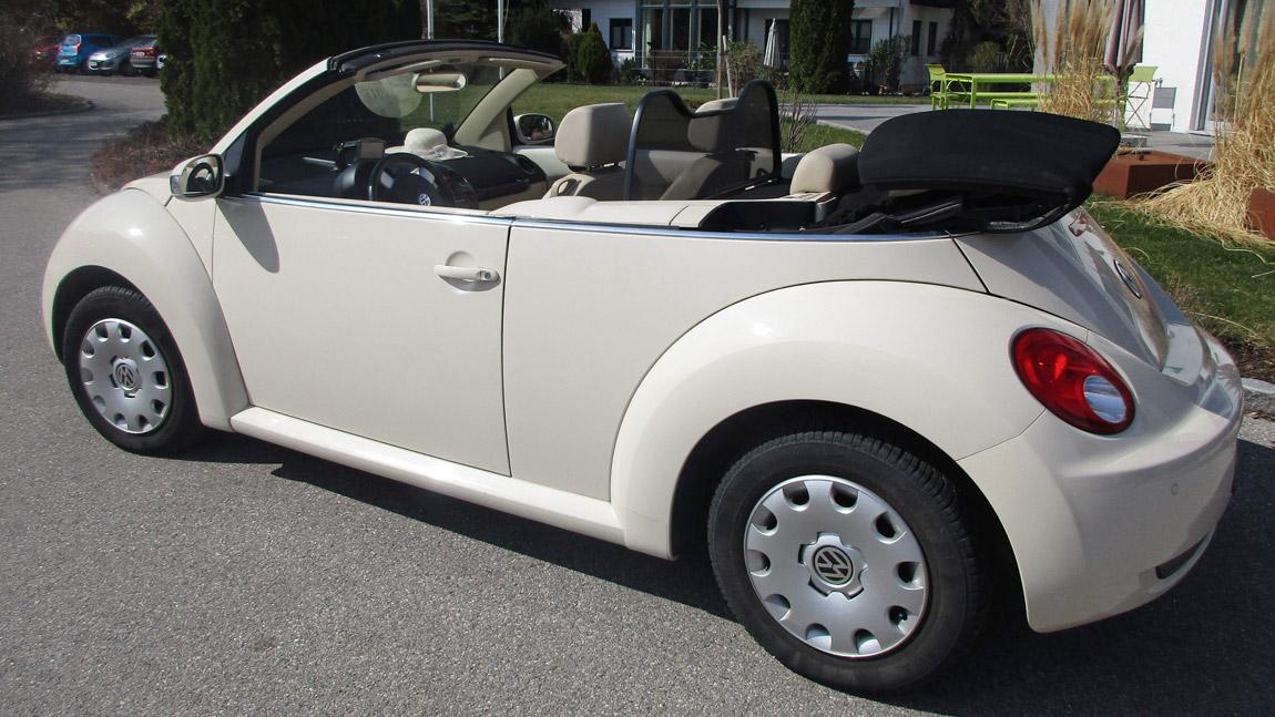 gebrauchtwagenmarkt vw beetle cabrio zum verkauf. Black Bedroom Furniture Sets. Home Design Ideas