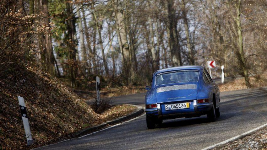 Unterwegs im Porsche 911 von 1964
