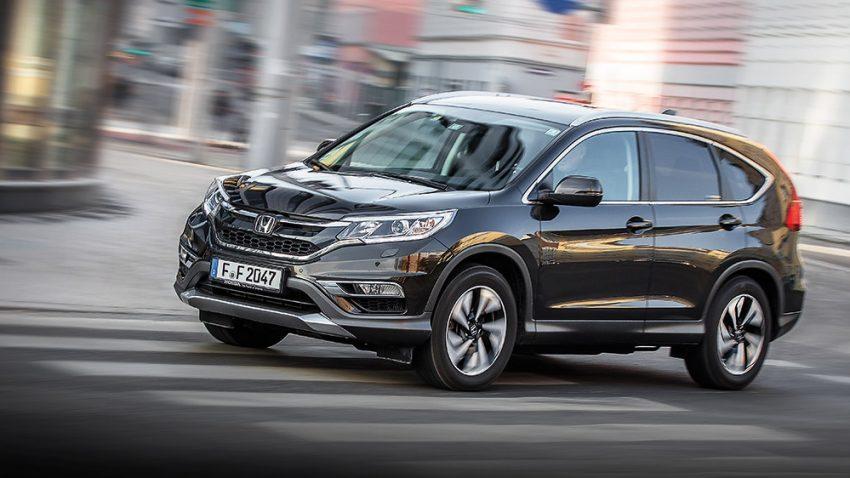 Honda CR-V 1,6 I-DTEC 4WD: Nicht nur global-universell!