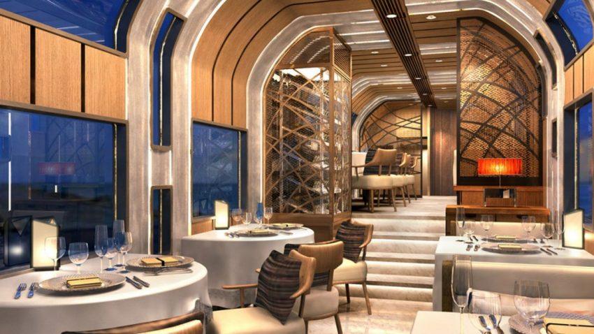 Dieser spektakul re zug wurde von einem ehemaligen ferrari for Traditionelles japanisches hotel