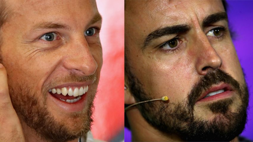 Jenson Button will in Fernando Alonsos Formel 1-Auto pinkeln