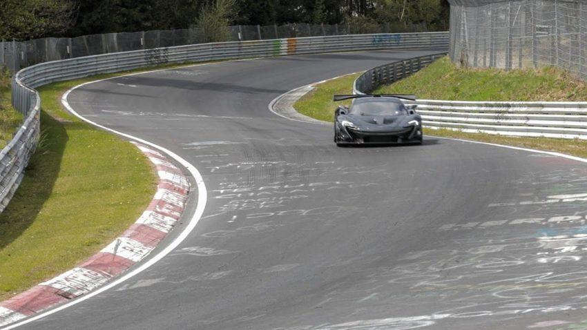 Der McLaren P1 LM ist der neue King am Nürburgring