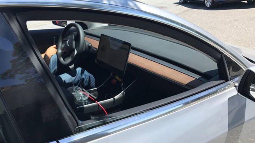 Maximal minimalistisch: Ein Blick in Teslas Model 3