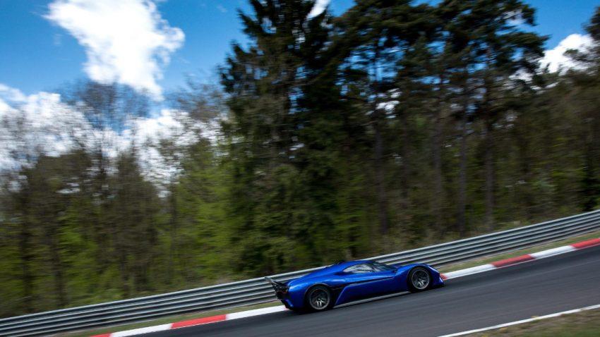 Elektro-Supercar NIO EP9 umrundet die Nordschleife schneller als jedes Serienfahrzeug