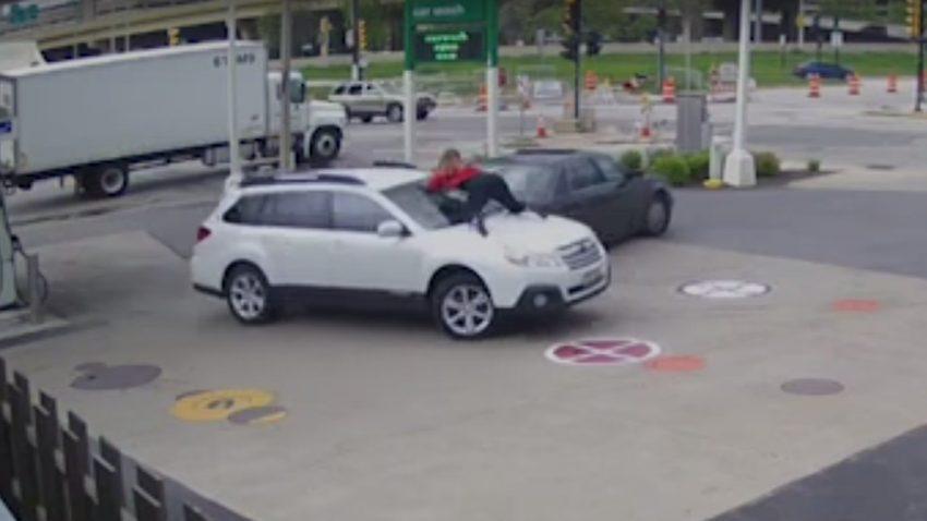 Diese Frau lässt nicht zu, dass ein Autodieb ihren Tag ruiniert