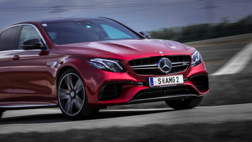 Mercedes-AMG E 63 S 4matic+: Gottlieb Daimlers Motor-Monster