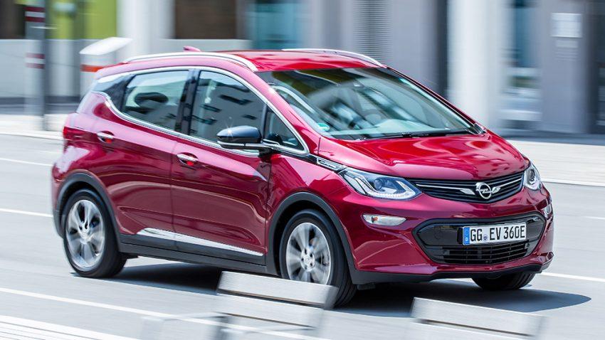 Opel Ampera-e: Über den Berg