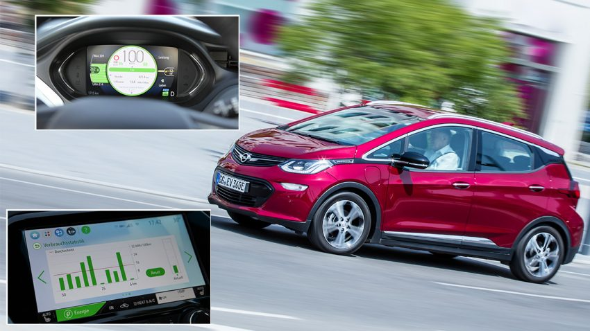 Opel Ampera-e im Test: Über den Berg und auf die Autobahn