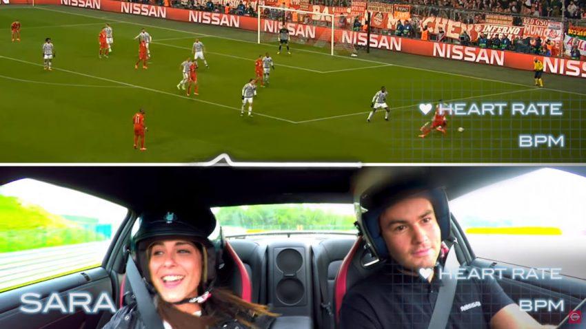 Was ist aufregender: Fußball oder Autos?