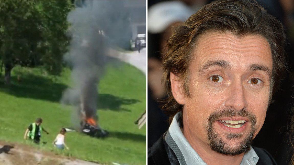 """""""Wie in einem Wäschetrockner voller Ziegelsteine"""": Richard Hammond spricht über seinen schweren Unfall im Rimac Concept One"""