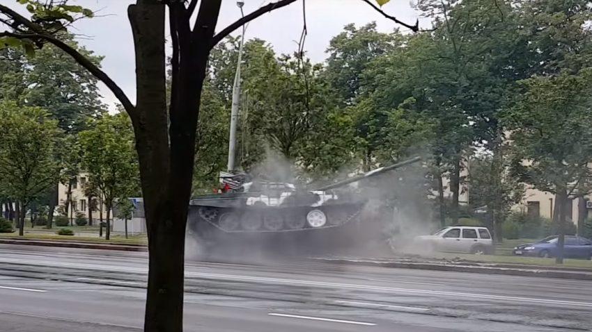 Dieser Panzer kann nicht driften
