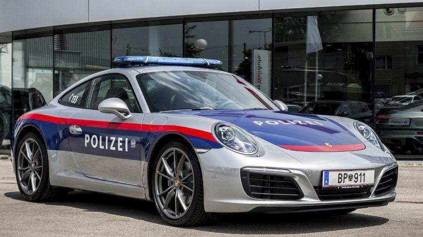 Die Polizei fährt jetzt Porsche