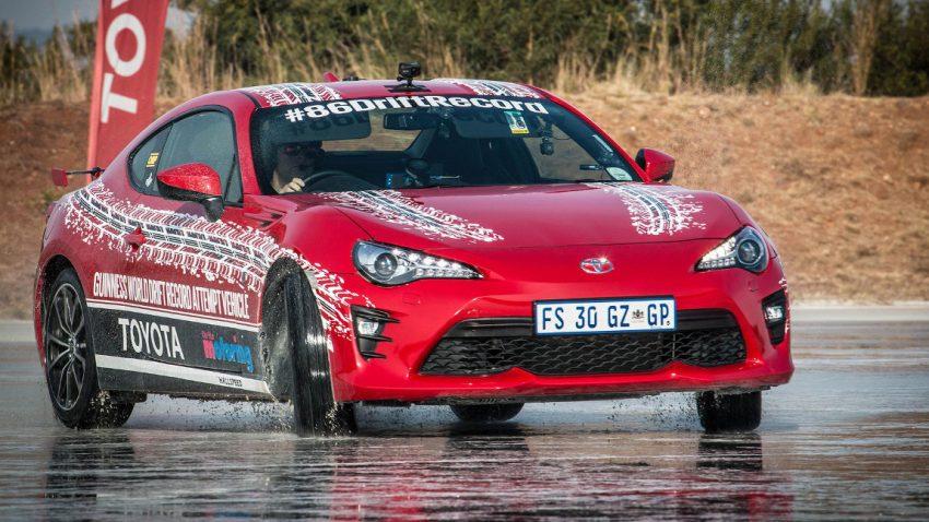 Weltrekord im Dauer-Driften: Fast 6 Stunden seitwärts im Toyota GT86