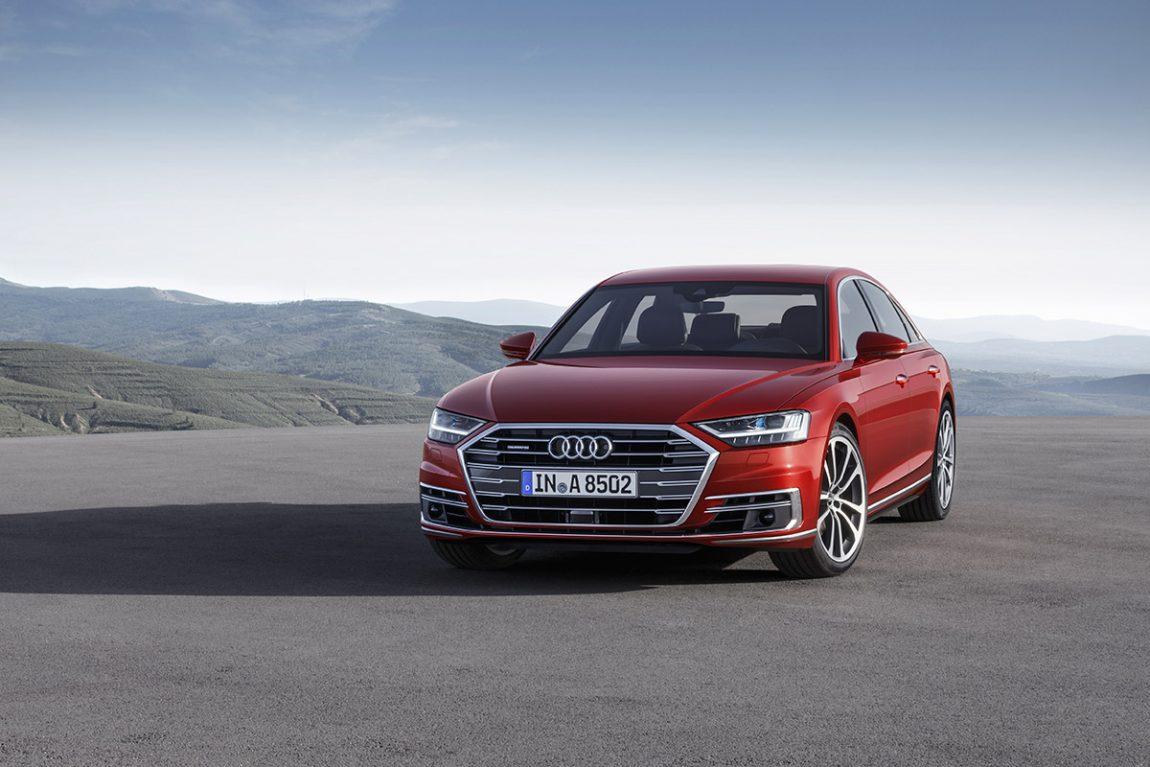 Audi A8: Stealth 8