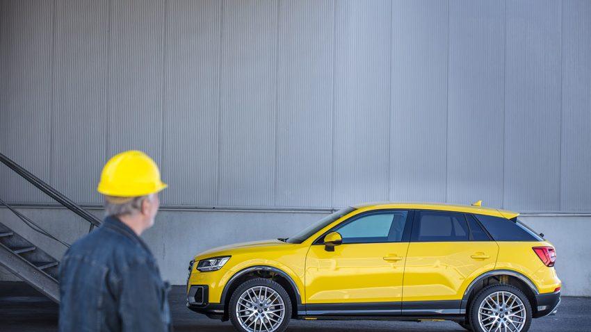 Audi Q2 1,0 TFSI Design: Gute Haltung