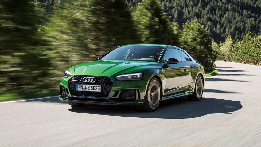 Audi RS5 Coupé: Fortschritt durch Vortrieb