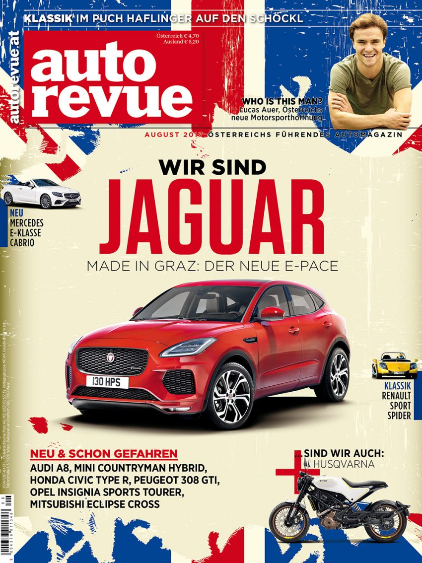 Autorevue Magazin: Ausgabe 8/2017