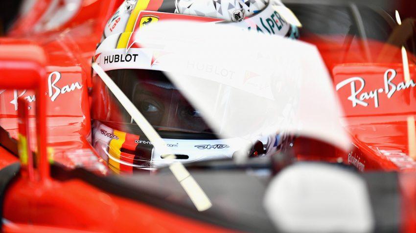 "F1: Ferrari testet Cockpit-Schutz ""Shield"""
