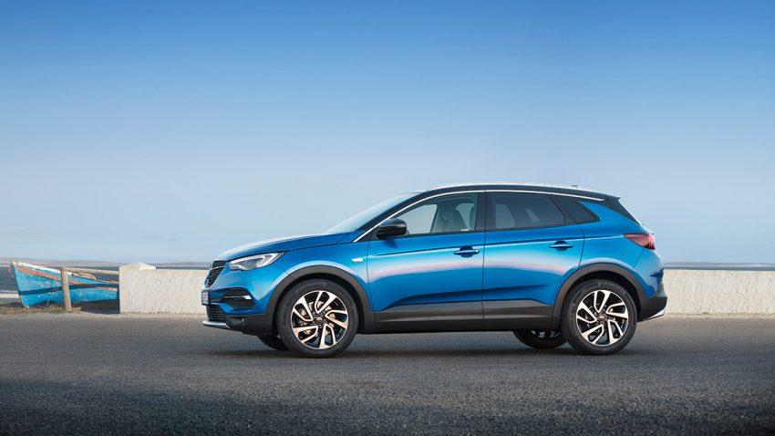 Opel Grandland X: Der oberste X