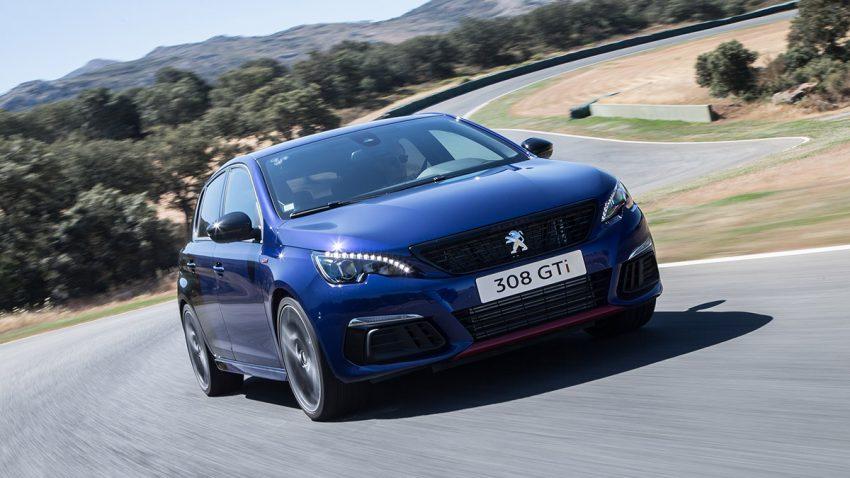 Peugeot 308 GTi: Assistenz-Verarztung
