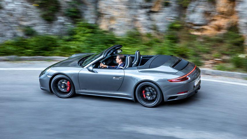Porsche 911 GTS Cabrio: Da bläst er!