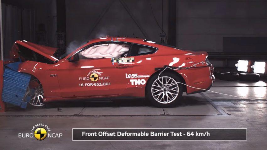 Von Ford Mustang bis VW Arteon: Sieben Fahrzeuge im Crashtest