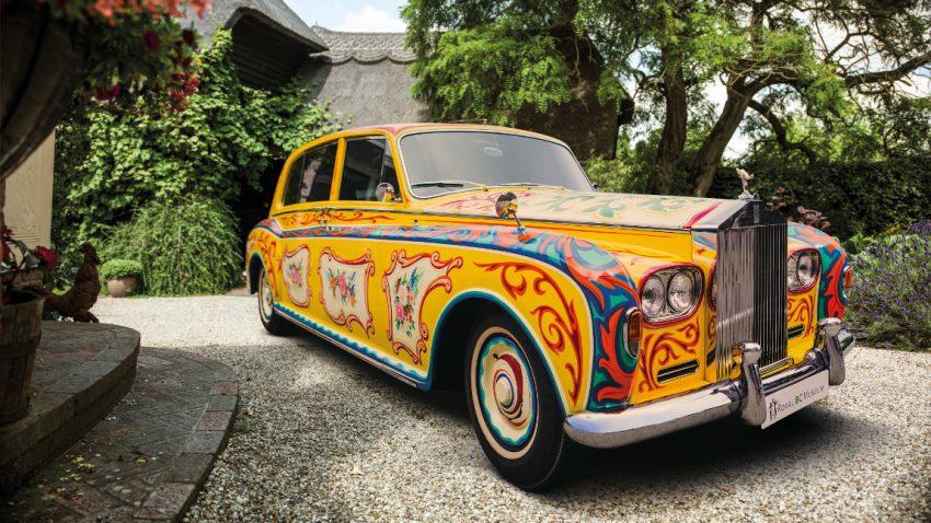 Dieser psychedelische Rolls-Royce Phantom V gehörte einmal John Lennon