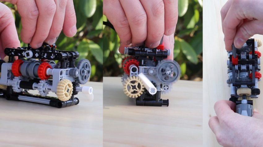 Ja, das ist ein funktionierendes LEGO-6-Gang-Getriebe - und so könnt ihr es nachbauen