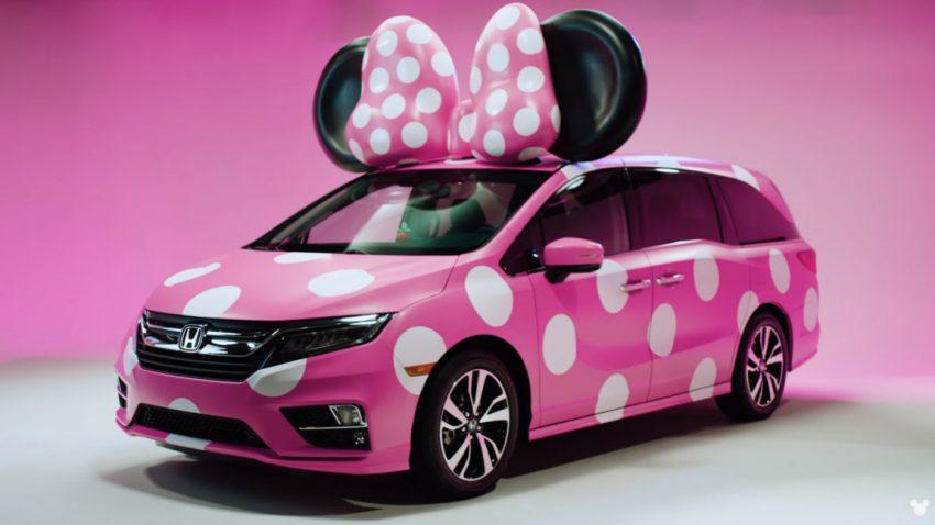 Wenn Wortspiele wahr werden: Honda baut Minnie Van