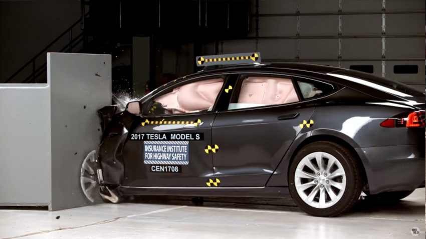 Crashtest: Tesla Model S verfehlte Bestnote erneut