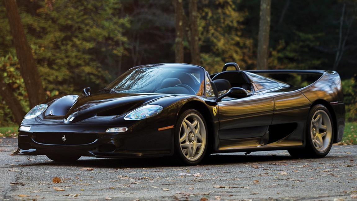 Modellgeschichte Ferrari F50