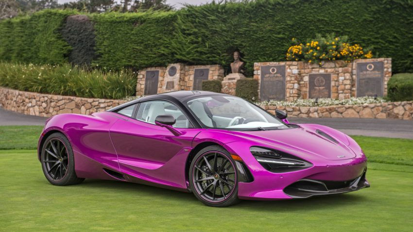 Flotte in Fuchsia: McLaren 720S und Rolls-Royce Dawn tragen Pink