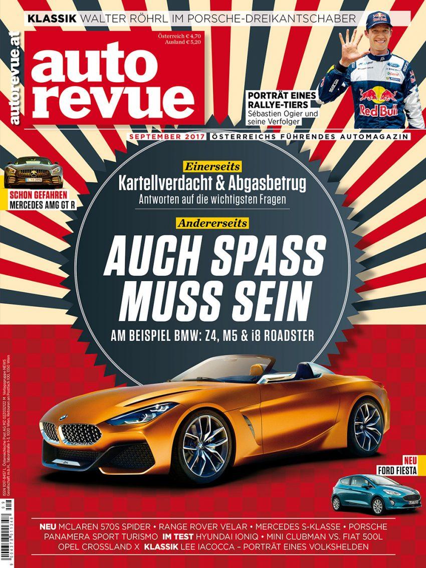Autorevue Magazin: Ausgabe 9/2017