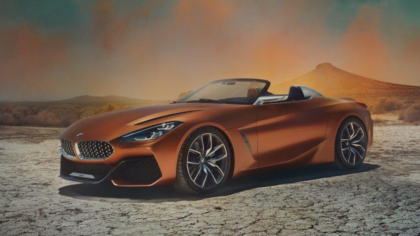 BMW Concept Z4: Neuer Roadster soll in Graz gebaut werden