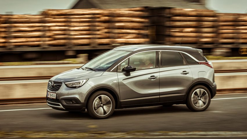 Opel Crossland X 1,2 Turbo: Hohe neue Welt