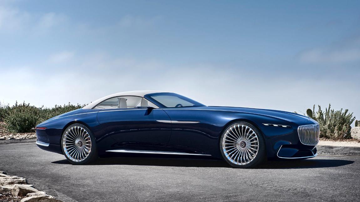 Spektakel auf 5 7 metern vision mercedes maybach 6 cabriolet for Top 50 luxury car interior designs